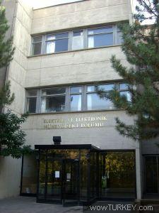Ankara Hacettepe Universitesi Beytepe Yerleskesi