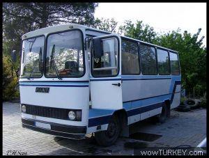 İveco Eurobus Vektörel Çizim Arıyorum.
