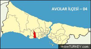 istanbul avcilar haritası ile ilgili görsel sonucu