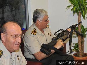 Işte mehmetçik 1 isimli türk yapımı silahlar