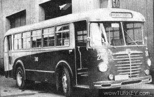 BÜSSİNG 4500 TU-10 (1954 Model)