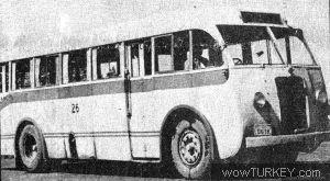 SCANIA-VABIS (Sağdan Direksiyonlu-1945 Model) Filo No:26