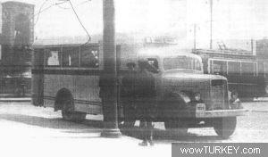 SCANIA-VABIS - Kamyon Şasisi Üzerine (1943 Model)